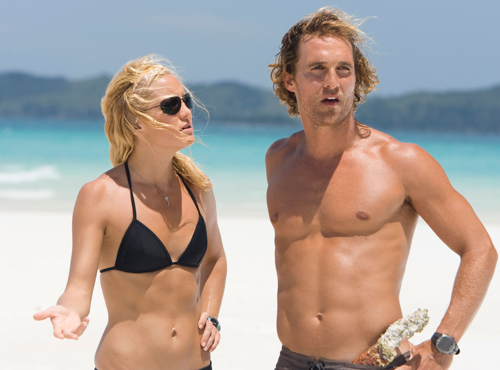 Matthew Mcconaughey and Kate Hudson in Fools Gold