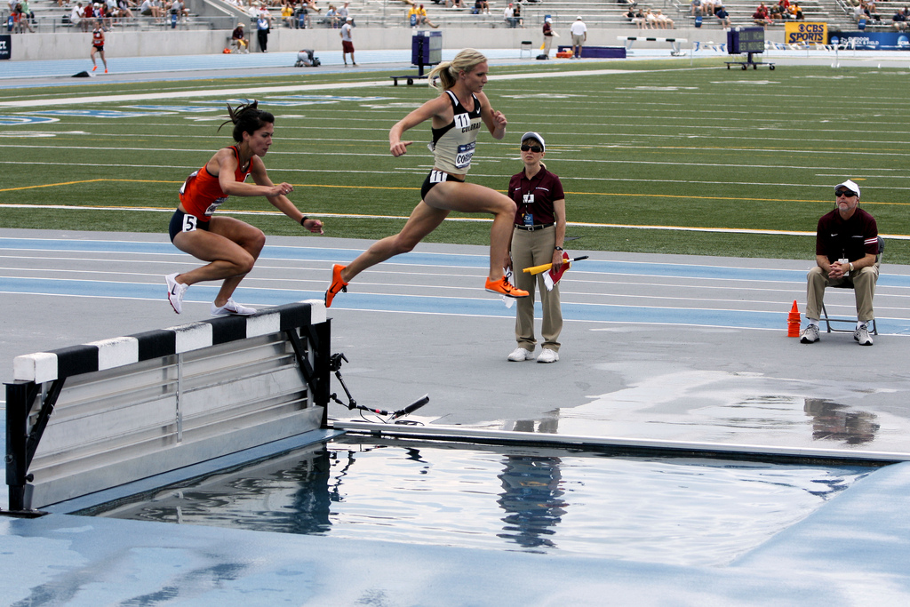 2011 NCAA Track & Field Championships Women's 3000m Steeplechase - Winner, Emma Coburn of Colorado by Phil Roeder CC2 Link: https://flic.kr/p/9SAcDf