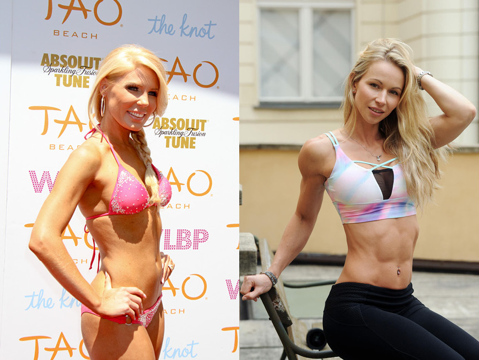 celebrity body fat percentages gretchen and zuzka