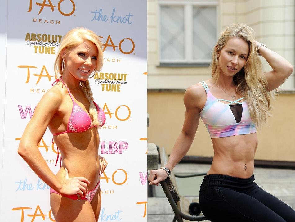 celebrity body fat percentages gretchen and zuzka