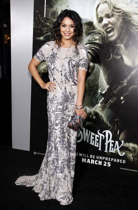Vanessa Hudgens at the premiere of Sucker Punch, in 2011 Photo: Buzzfuss / 123rf