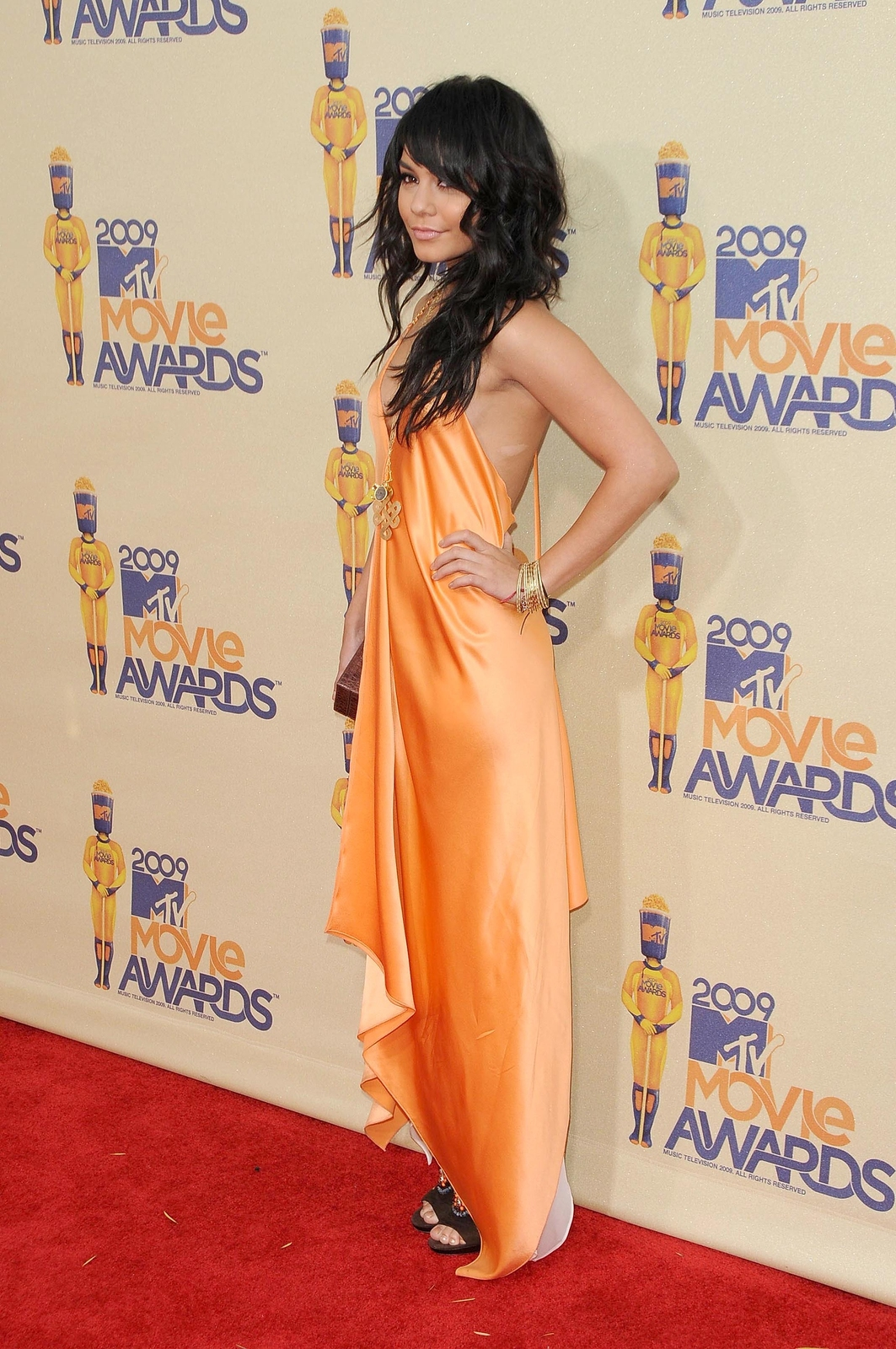 Vanessa Hudgens at the 2009 MTV Movie Awards, 2009, right before filming Photo: S Buckley / Shutterstock