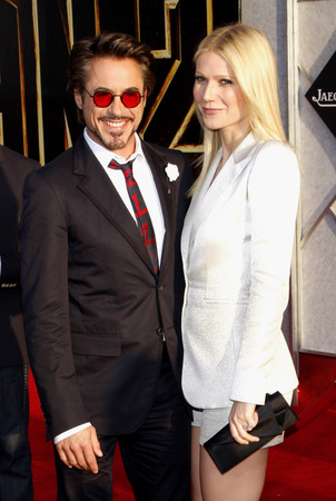 Robert Downey Rr and Gwyneth Paltrow at the premiere of 'Iron Man 2'  Photo Credit: Buzzfuss / 123rf.com