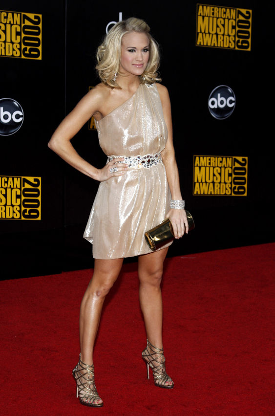 Carrie Underwood at the American Music Awards Photo: Buzzfuss / 123rf