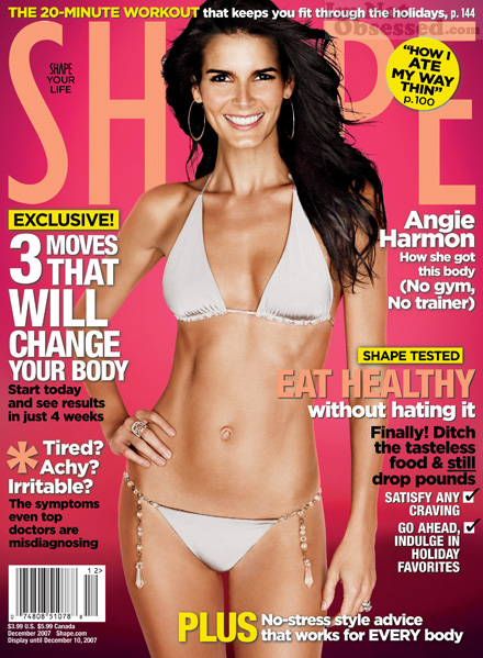 Angie Harmon Doesn't Go To The Gym