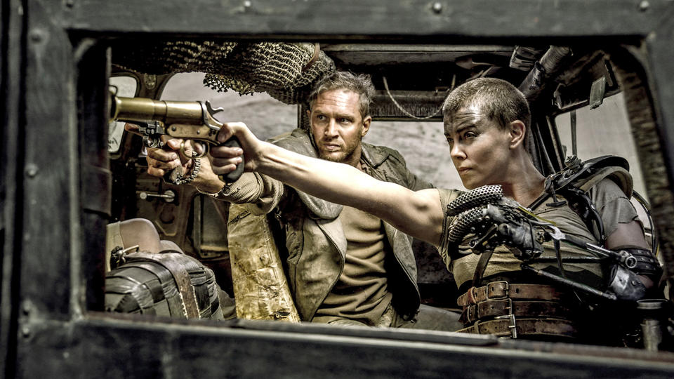 Charlize Theron, Imperator Furiosa, Inversions and Arm-balances