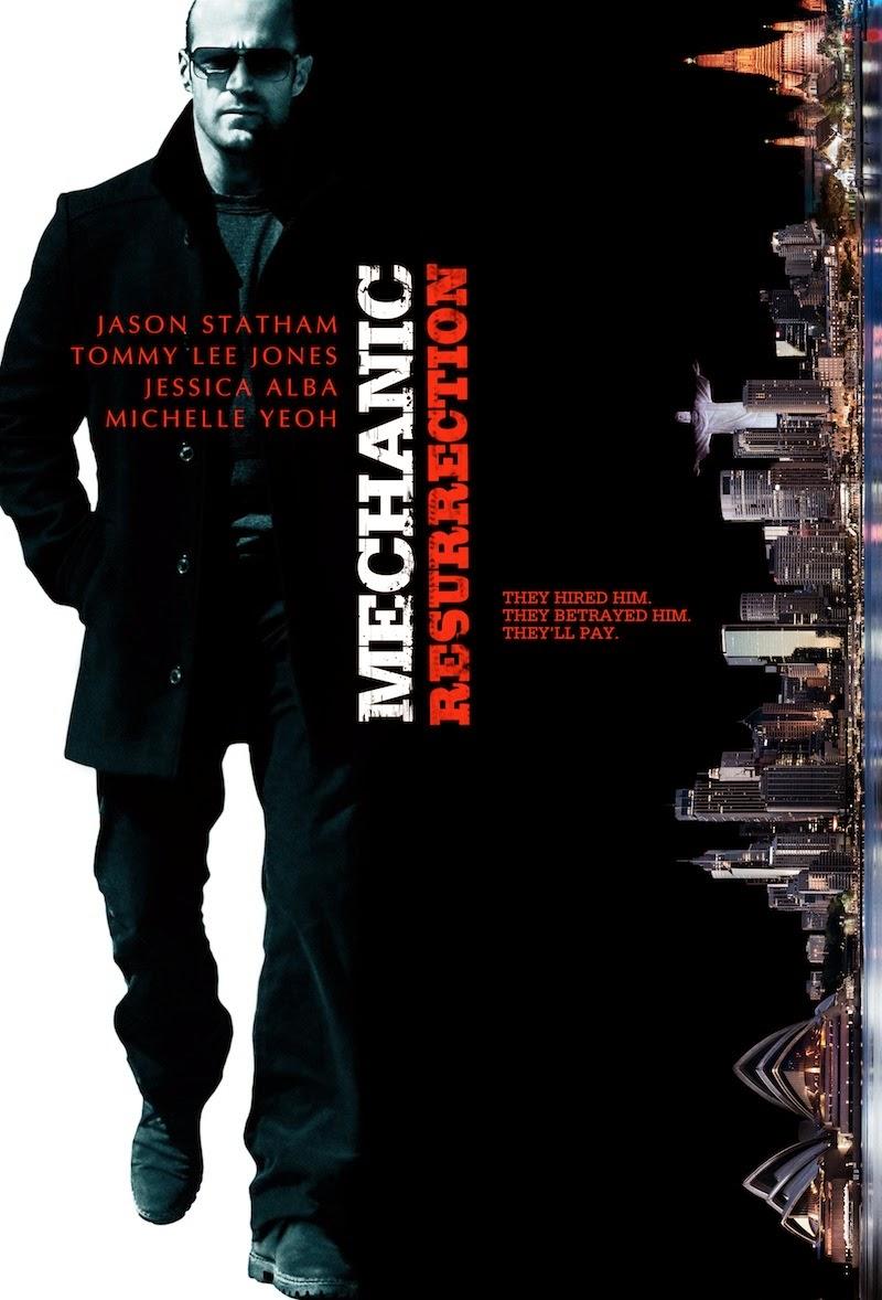 The Mechanic 2 Teaser Poster