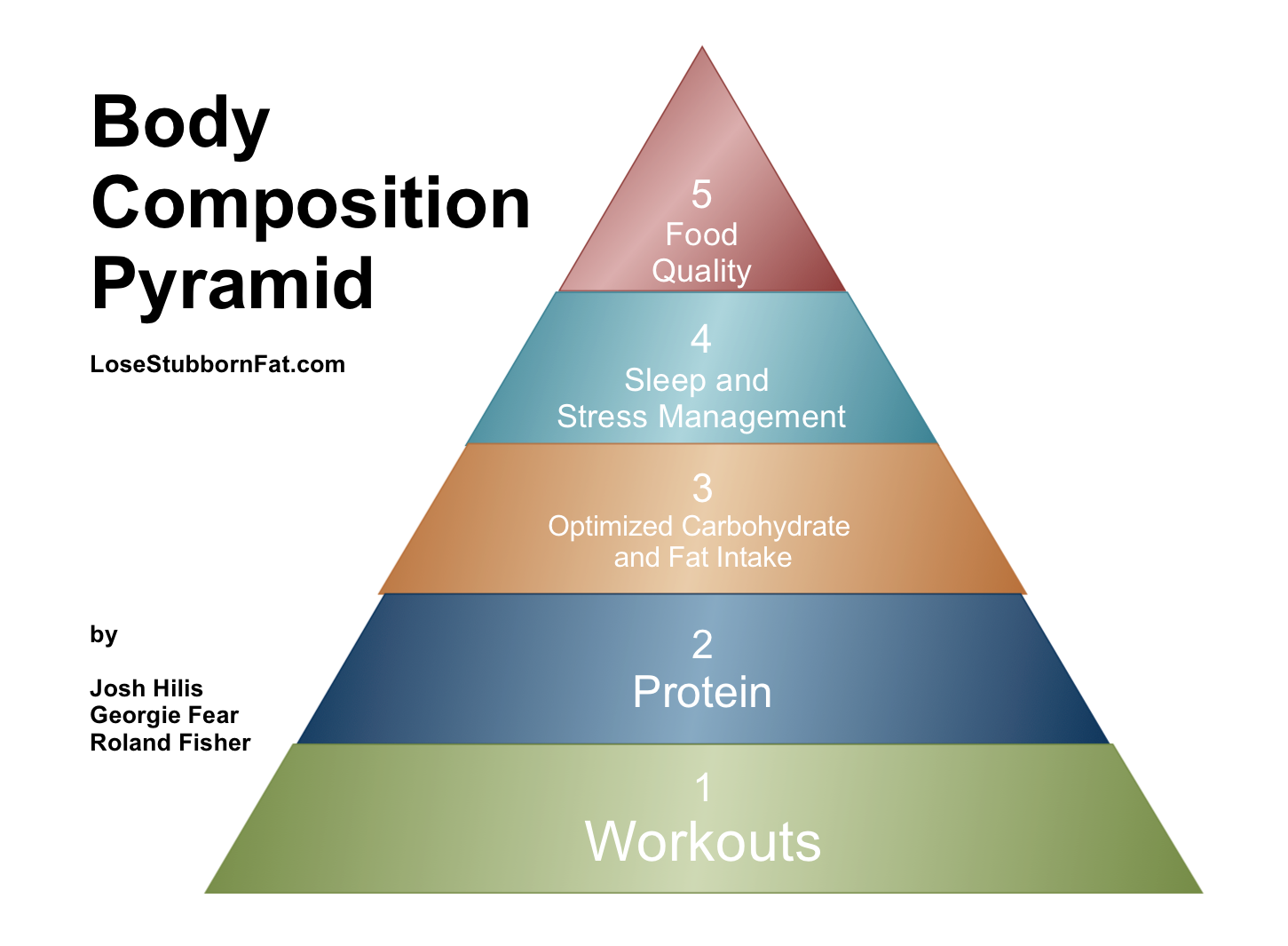 body composition pyramid 2