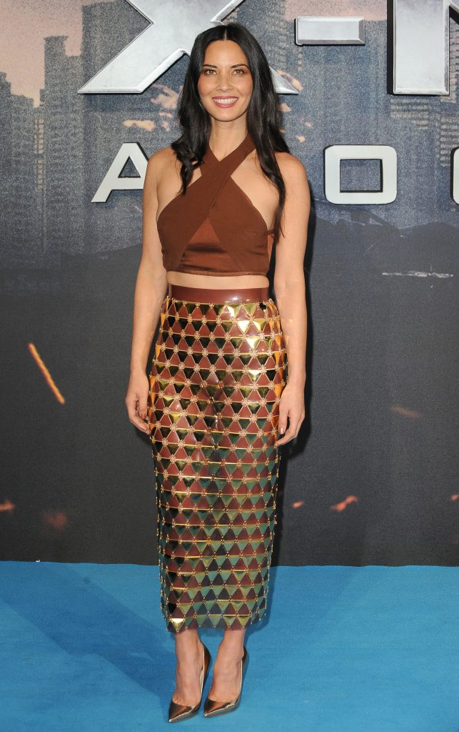 "Olivia Munn - ""X-Men: Apocalypse"" Global Fan Screening - Landmark / PR Photos"