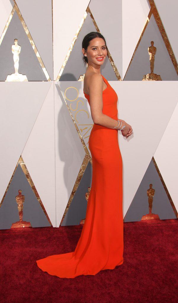 02/28/2016 - Olivia Munn - 88th Annual Academy Awards Photo Credit: PRPhotos.com -