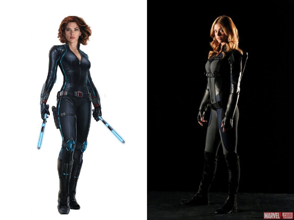 I just have to say that I'm pulling for a Black Widow + Mockingbird Movie