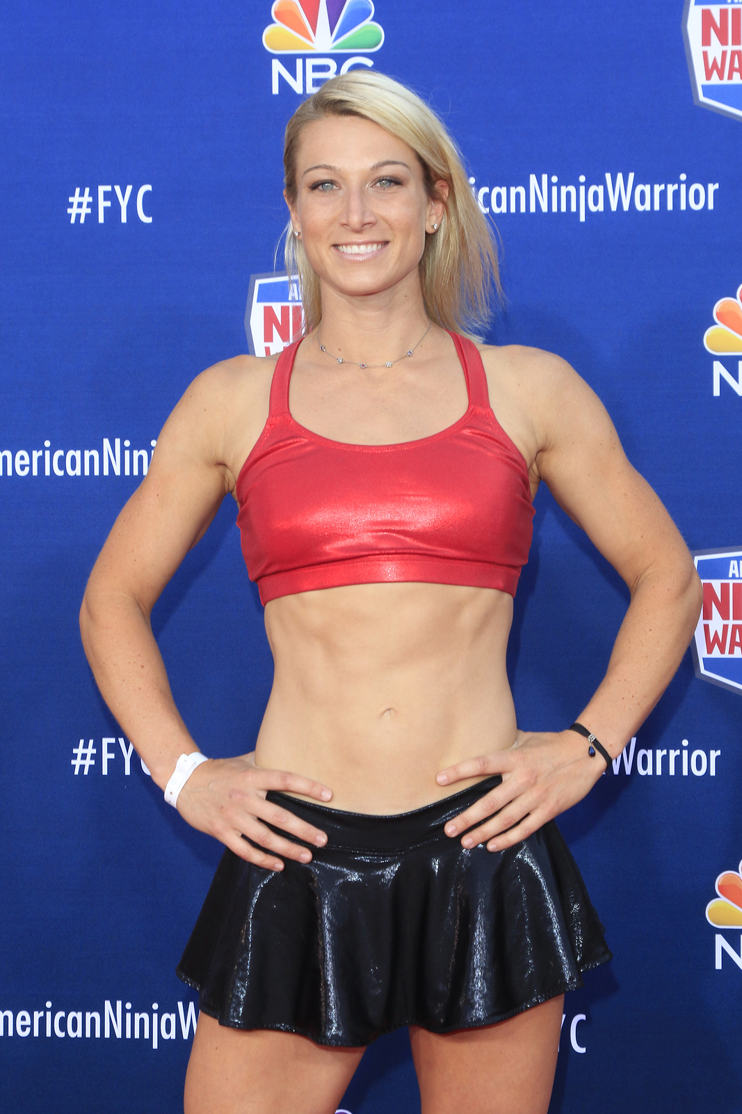 "Jessie Graff at the ""American Ninja Warrior"" Screening Event Photo: Kathclick / Shutterstock"
