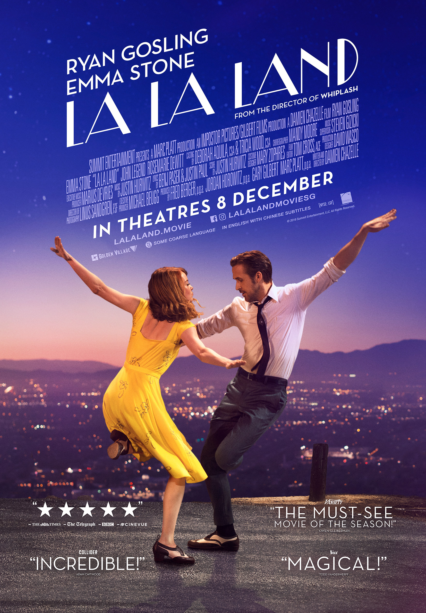 The dancing in La La Land was almost as beautiful as Emma Stones deadlift form.