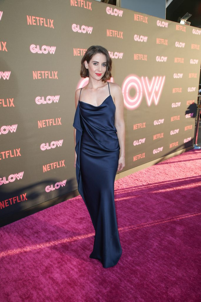 Alison Brie can do 11 Pull-ups per set, training for GLOW