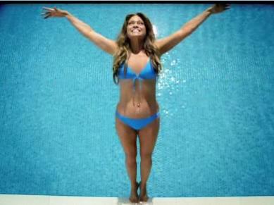 Bertinelli and bikini