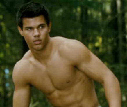 Taylor lautner showing off his huge cock man of the day
