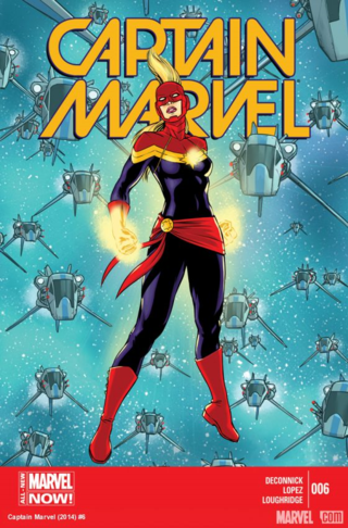 Captain Marvel vs. an entire fleet of Spartax: pretty fair fight