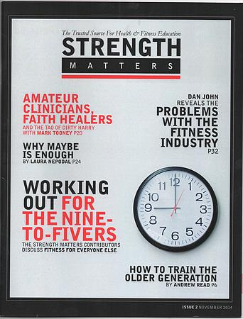 Strength matters magazine